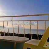 Вид с балкона рано утром