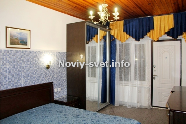 1я спальня, при входе в номер