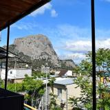 Вид с балкона при входе в номер