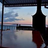 Закат, вид с террасы 03.06.2020