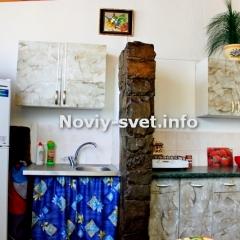 Кухня на веранде