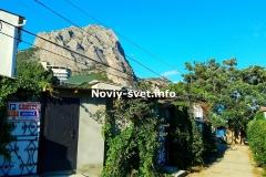 Однокомнатный номер-студия в Новом Свете. Крым