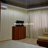 2я комната: двуспальная кровать и  раскладной диван