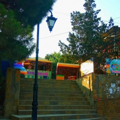 Лестница к кафе Бригантина